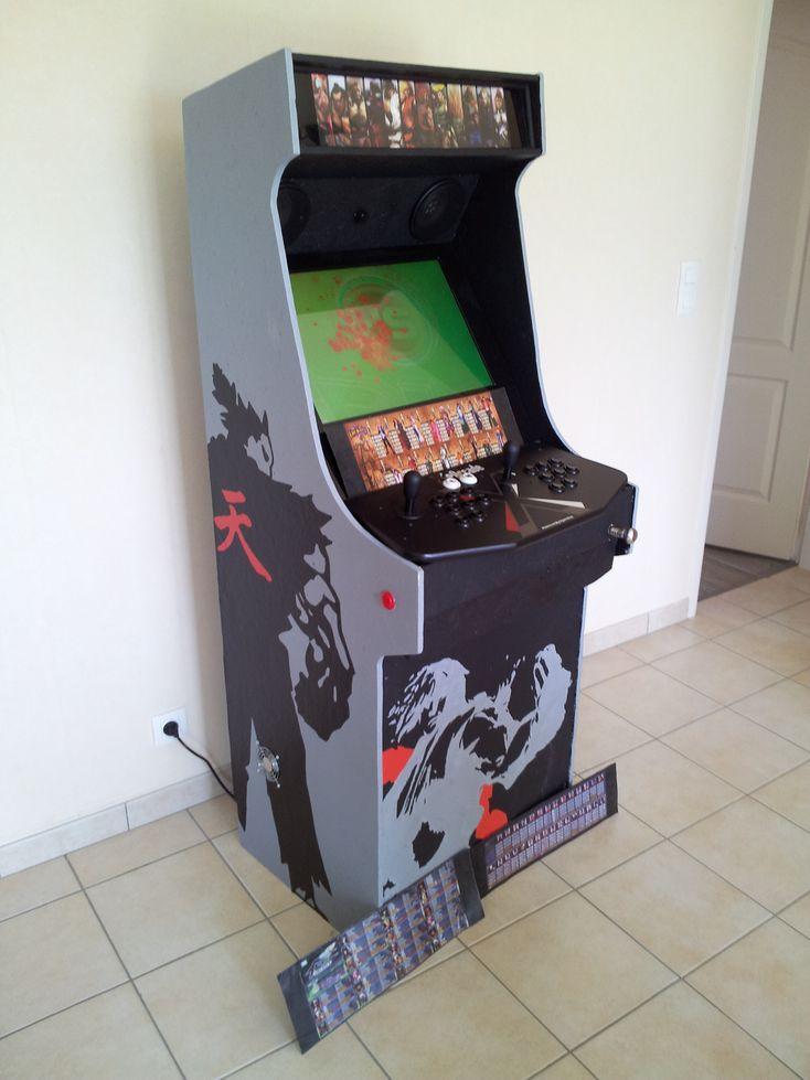borne arcade flipper